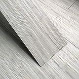 Takarafune フローリング 床デコ フロアタイル フローリングシート 床 シート 接着剤不要 木目 床 防水シート 床材 フローリング床 貼るだけフローリングタイル 36枚セット