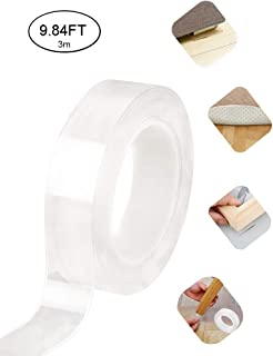 Double Sided Traceless Washable Nano Tape Reusable Clear Double Sided Anti-Slip Nano Gel..