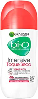 Desodorante Bí-O Toque Seco Feminino Roll-On, 50 ml, Garnier