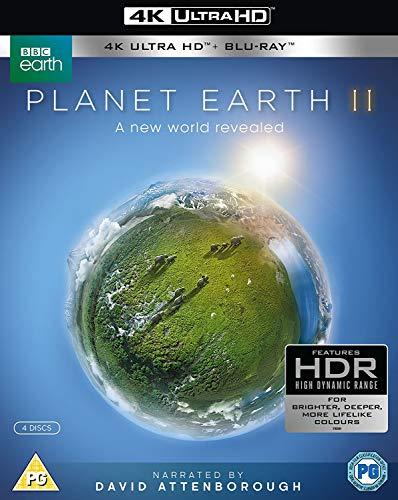 David Attenborough Planet Earth Ii (4 Dvd) [Edizione: Regno Unito]
