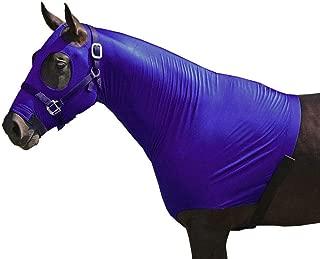Chicks Saddlery Horse Hood Mane Tamer with Full Zipper Closure - Large Eye Holes