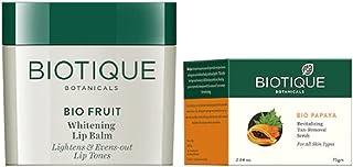 Biotique Set Of Scrub & Lip Balm