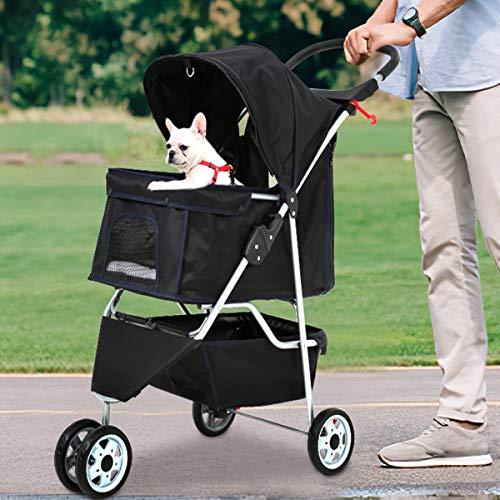 Bigacc 3 Wheels Dog Stroller