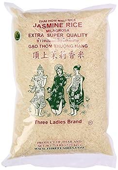 Three Ladies Jasmine Rice Long Grain 5 lbs  011109