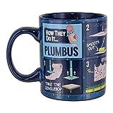 Paladone PP5170RM Rick & Morty Plumbus - Taza de cerámica para té, diseño de café y té...