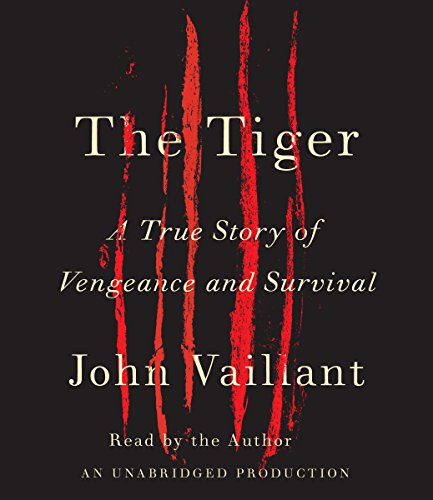 The Tiger audiobook cover art