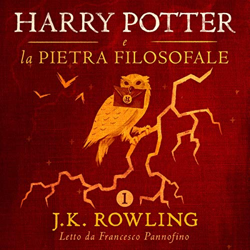 Harry Potter e la pietra filosofale (Harry Potter 1) audiobook cover art