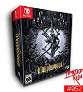 """Collector's Edition includes: Blasphemous physical game, original soundtrack (OST), double sided 18"""" x 24"""" poster, metal pin, fine art print, the art of Blasphemous book, and a 5"""" Mea Culpa sword replica. Limited to 2,000 copies worldwide."""