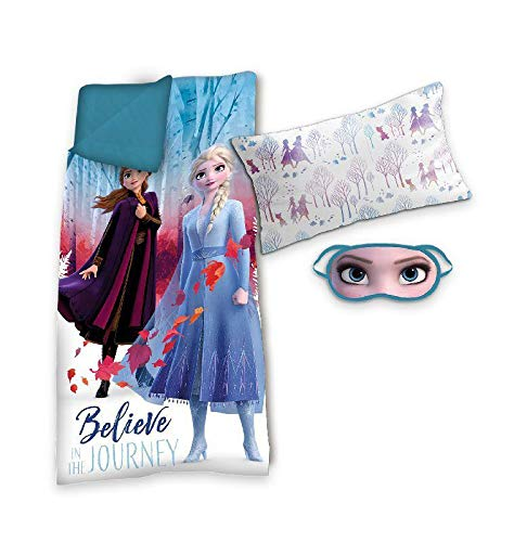 Frozen Set Saco de Dormir +cojin+ Antifaz 2. Referencia KD