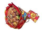 Chupa Chups Original, Caramelo con Palo de Sabores Variados, Flower Bouquet de 19 unidades de 12gr. (Total 228 gr.)