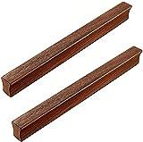 Door Handles Knobs 2 Pack Wooden Cabinet Handles Knobs Pull Drawer Cupboard Handle Kitchen Door Pulls Closet Drawer Knobs Pulls Furniture Handle For Cabinets Drawers (Size : Hole distance:128mm)