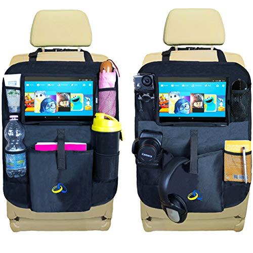 Protezione Sedili Auto Bambini Sidias 2pcs Omaggi Proteggi Sedile Organizzatore Porta Tablet Bambini Organizzatore Sedile Posteriore Impermeabile 2a Generazione Organizer Coprisedile Posteriore Auto