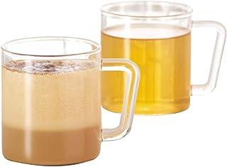 Borosil Vision Classic Delite 305 Ml (Set of 2) - Tea and Coffee Mug