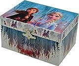 Disney Frozen Joyero Muscial Cuadrado 2 Organizadores de Joyas para Armario Almacenaje de Adornos Festivos Artículos para el hogar Unisex Adulto, Multicolor (Multicolor), única
