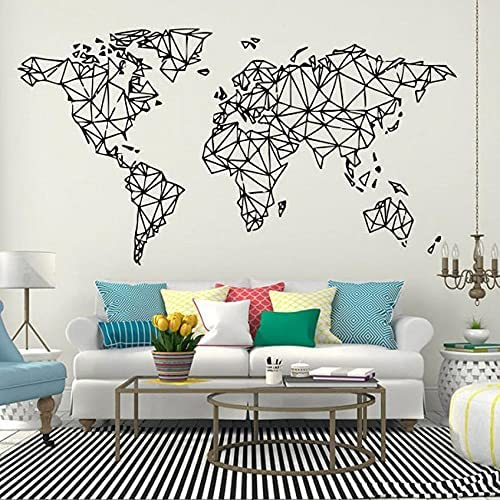 World Map San Diego Mall OFFicial mail order Wall Decal of The Decals Office Wa