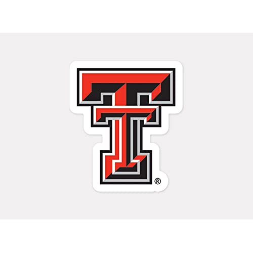 Texas Tech vinyl sticker for skateboard luggage laptop tumblers a