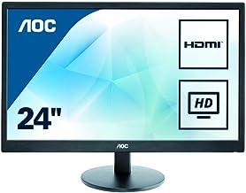 AOC Monitores E2475SWJ - Monitor de 23.6