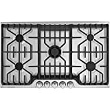 Frigidaire Professional FPGC3677RS Frigidaire Professional 36'' Gas Cooktop with Griddle in Stainless Steel