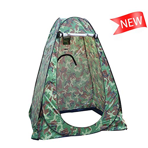 Portable Outdoor Changing Room,Pop up Privacy Tent with 3 Breathable Windows Perfect for Camping,Fishing,Shower and Dressing.