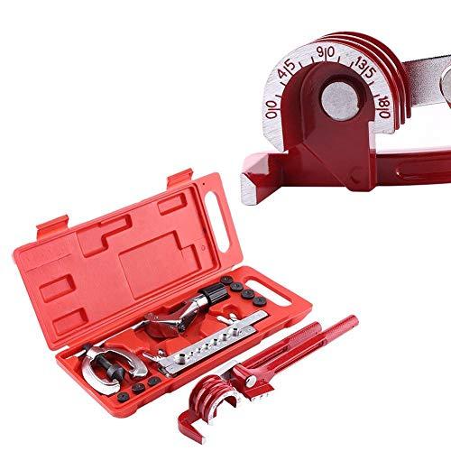 Kit di torsione tubo 11 pezzi set di strumenti di scarico del tubo del freno strumento di espansione di tubo kit di torcia di riparazione tubo di evaporazione del freno