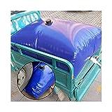 GDMING Contenedor Portador De Agua, Gran Capacidad Tensión Soportada Resistente Al Desgaste Suave PVC Bolsa De Almacenamiento De Agua por Exterior Fuego/Edificio Depósito De Agua