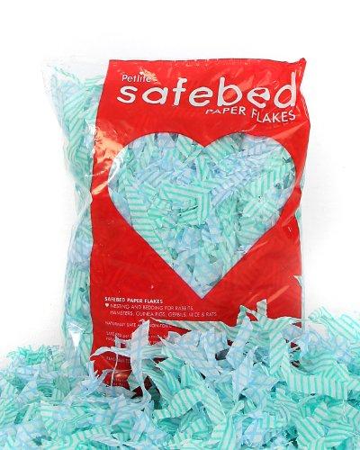 Petlife Safebed Papierflocken, Einstreu für Kleintiere, Tragekäfig für Kleintiere