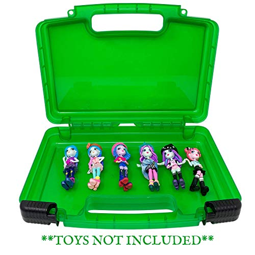 Life Made Better Portable Toy Storage Box, Carries Over Six Figurines, Secure Clasping System Plus Carrying Handle, Compatible with Off The Hook Figures - Toys Not Included