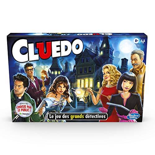 Hasbro Cluedo - Jeu de societe - Jeu de plateau - Version fr