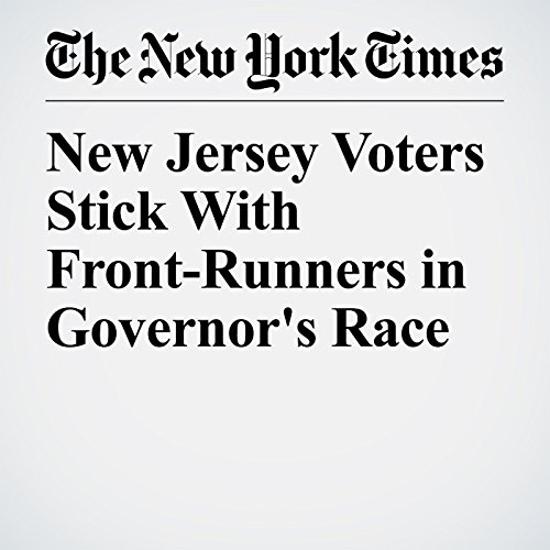 New Jersey Voters Stick With Front-Runners in Governor's Race copertina