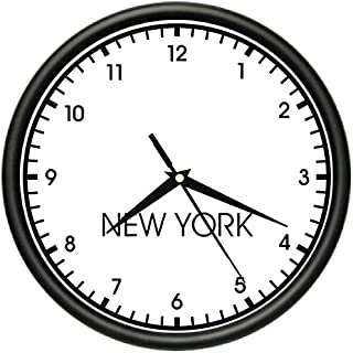 SignMission New York Wall World time Zone Clock Office Business, Beagle