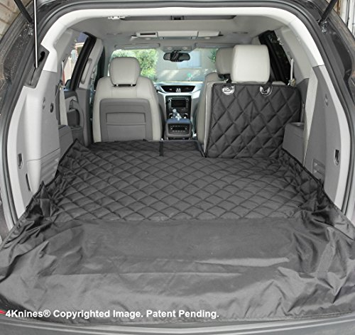 4Knines SUV Cargo Liner for Fold Down Seats - Heavy Duty - 60/40 Split and Armrest Pass-Through...