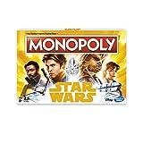 Star Wars HASE1702102 Monopoly Han Solo Game, multicolore, taglia unica- inglese