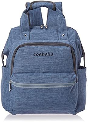 Coaballa Multi-Function Travel Diaper Bag Backpack Organizer