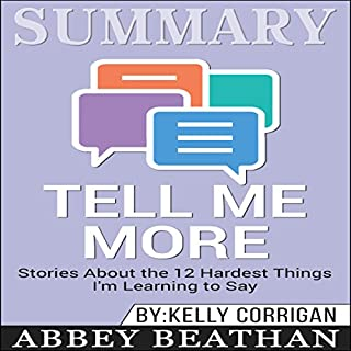 Summary: Tell Me More audiobook cover art