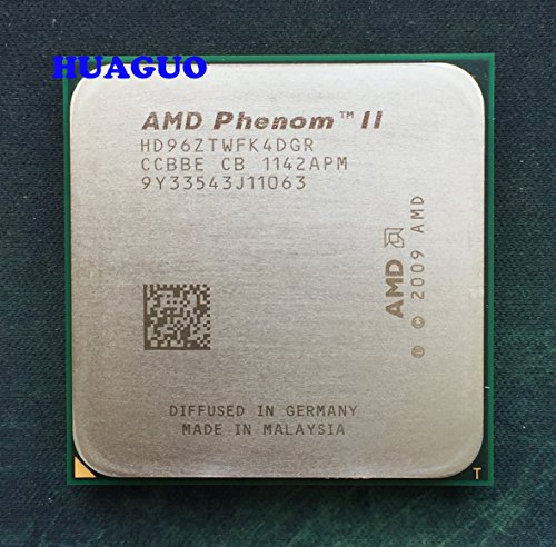 AMD Phenom II X4 960t Black Edition 3.0 GHz 6 MB Quad-Core CPU procesador hd96ztwfk4dgr Socket AM3 95 W