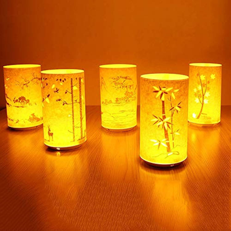 QIZIANG 1 STÜCK LED Retro Kreatives Pergament Geschnitzte Tischlampe Infrarot Fernbedienung Batteriebetriebene Lichter Hot (Farbe   Pattern Deer) B07LF8YMGC  | Kaufen Sie online