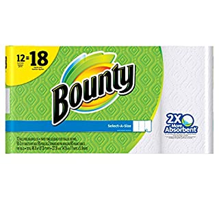 Bounty Select-A-Size Paper Towels (Old Version) (B00HMY2PGE) | Amazon price tracker / tracking, Amazon price history charts, Amazon price watches, Amazon price drop alerts