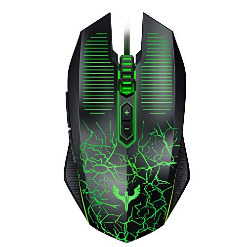 Blade Hawks Gaming Mouse Wired, [Chroma RGB Backlit] [7 Programmable Buttons] [6 DPI Adjustable], Ergonomic Optical Gaming Mice for PC, Computer, Laptop, Desktop, Windows- GM-X6