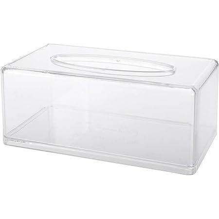 Dunkelgrau Hacoly Taschentuchbox Acryl Kosmetikt/ücherbox Langlebig und Stilvoll Taschent/ücherbox Taschentuchspender Universal Taschentuchbox f/ür Haus B/üro und Hotel