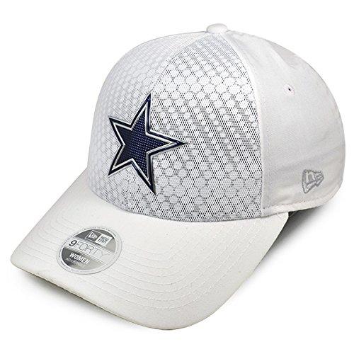 521de51d73e22 Dallas Cowboys New Era Women s 2017 Color Rush 9FORTY Adjustable Hat – White