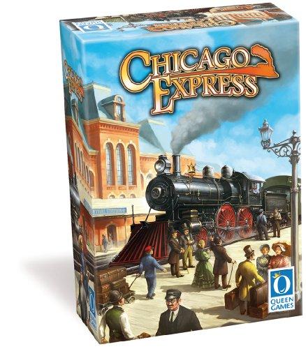 Queen Games - Chicago Express - Multilingual DE, GB, FR, IT, NE, SP
