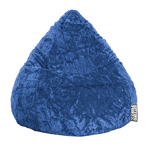 SITTING POINT only by MAGMA Sitzsack Fluffy XL ca. 220 Liter blau