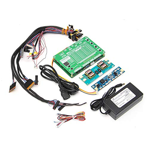 WANG 1set Laptop LCD/LED-Test-Tool-Kit-Panel-Bildschirm Tester + 14PCS LVDS-Kabel + Inverter