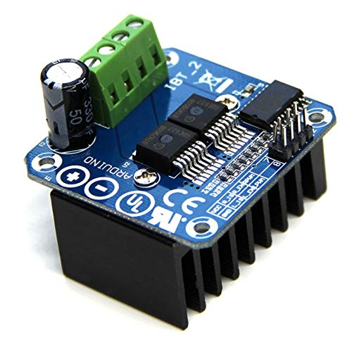 WSCHENG 43A High Power Motor Driver Module/Smart Car Driver Module For Arduino Current Limit High-power Drive Full H-bridge Driver 1 Pcs