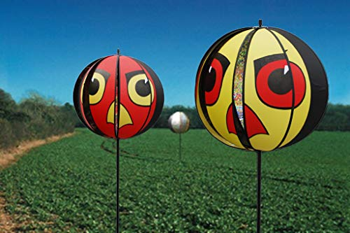 Garden Machines Northampton Ltd Portek Répulsif visuels pour Oiseaux Motif Yeux de Faucon