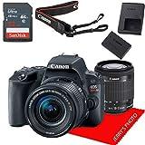 Canon EOS Rebel SL2 DSLR Camera w/EF-S 18-55mm f/4-5.6 is STM Lens+ 32GB Memory Bundle