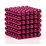 Sky Magnets 5 mm Magnetic Balls Cube Fidget Gadget Toys Rare Earth Magnet Office Desk Toy Games Magnet Toys Multicolor Beads Stress Relief Toys for Adults