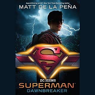 Superman: Dawnbreaker audiobook cover art