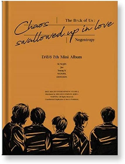 Day6 The Book Online limited product of Us Negentropy Chaos Love Swallowed in 7th Mi up Max 86% OFF
