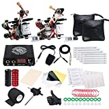 Dragonhawk Professional Great Beginner Tattoo Kit 2 Machine Guns Tattoo Supply D53EUYMX